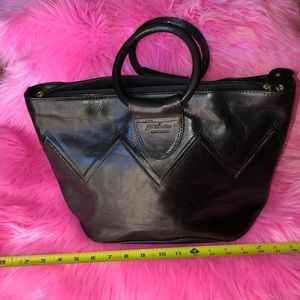 Made in Italy leather handbag